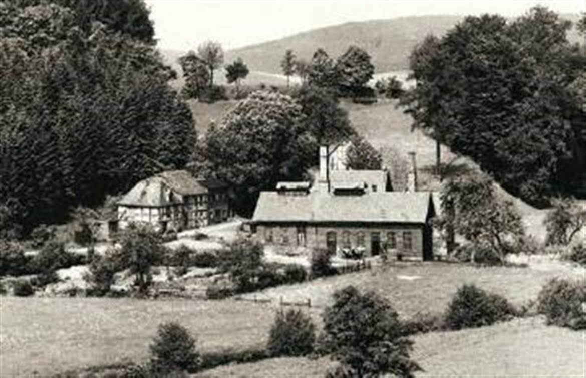 Knickhütte in Bigge (Olsberg), around 1920