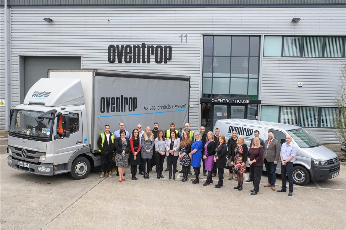 Oventrop Team in UK