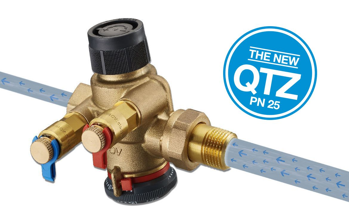 "New valve generation ""Cocon QTZ"" by Oventrop"