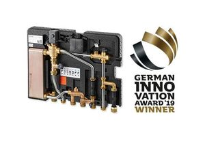 """German Innovation Award 2019"" für ""Regudis W-HTE"" Wohnungsstation"