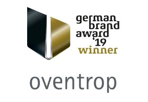 """German Brand Award 2019"" for the brand Oventrop"