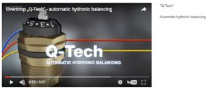 """Q-Tech"" video – Automatic hydronic balancing"