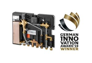 """German Innovation Award 2019"" für ""Regudis W-HTE"" dwelling station"