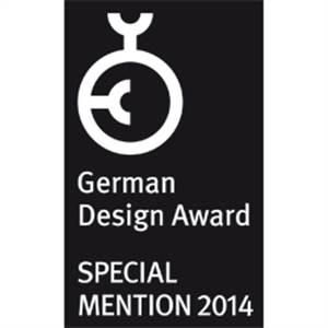 """German Design Award - Special Mention 2014"" für Oventrop Thermostat ""pinox"""