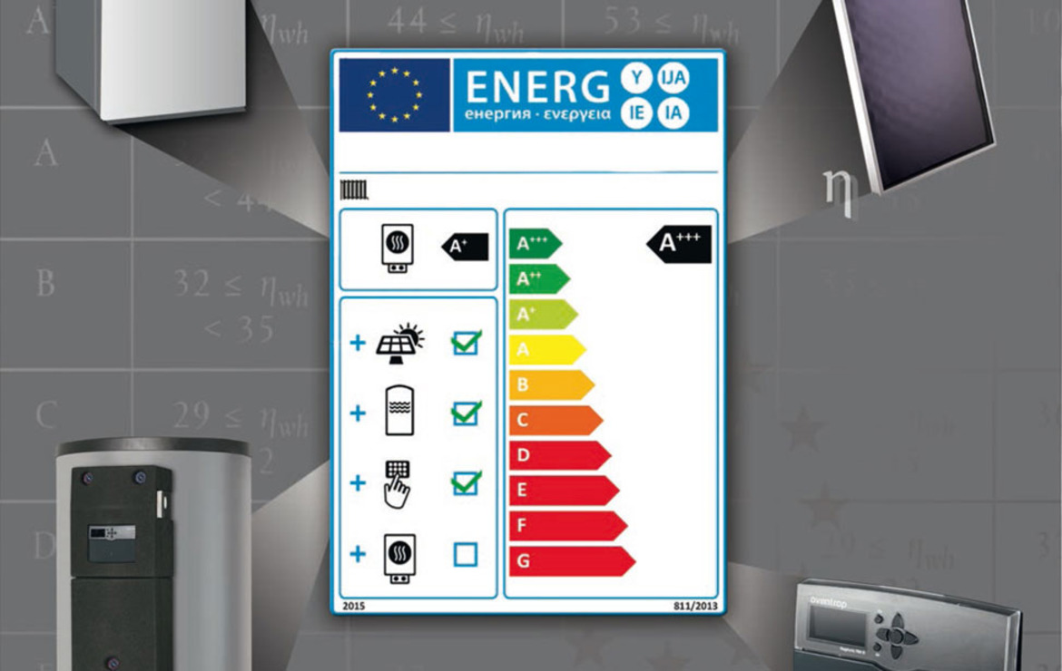 ErP Label for heating systems