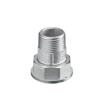 Gas meter coupling PN1 DN50, R2 x G 2 1/2 collar nut