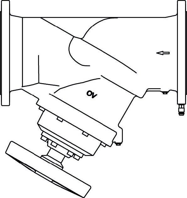 strangregulierventil hydrocontrol mfc dn 250 mit. Black Bedroom Furniture Sets. Home Design Ideas