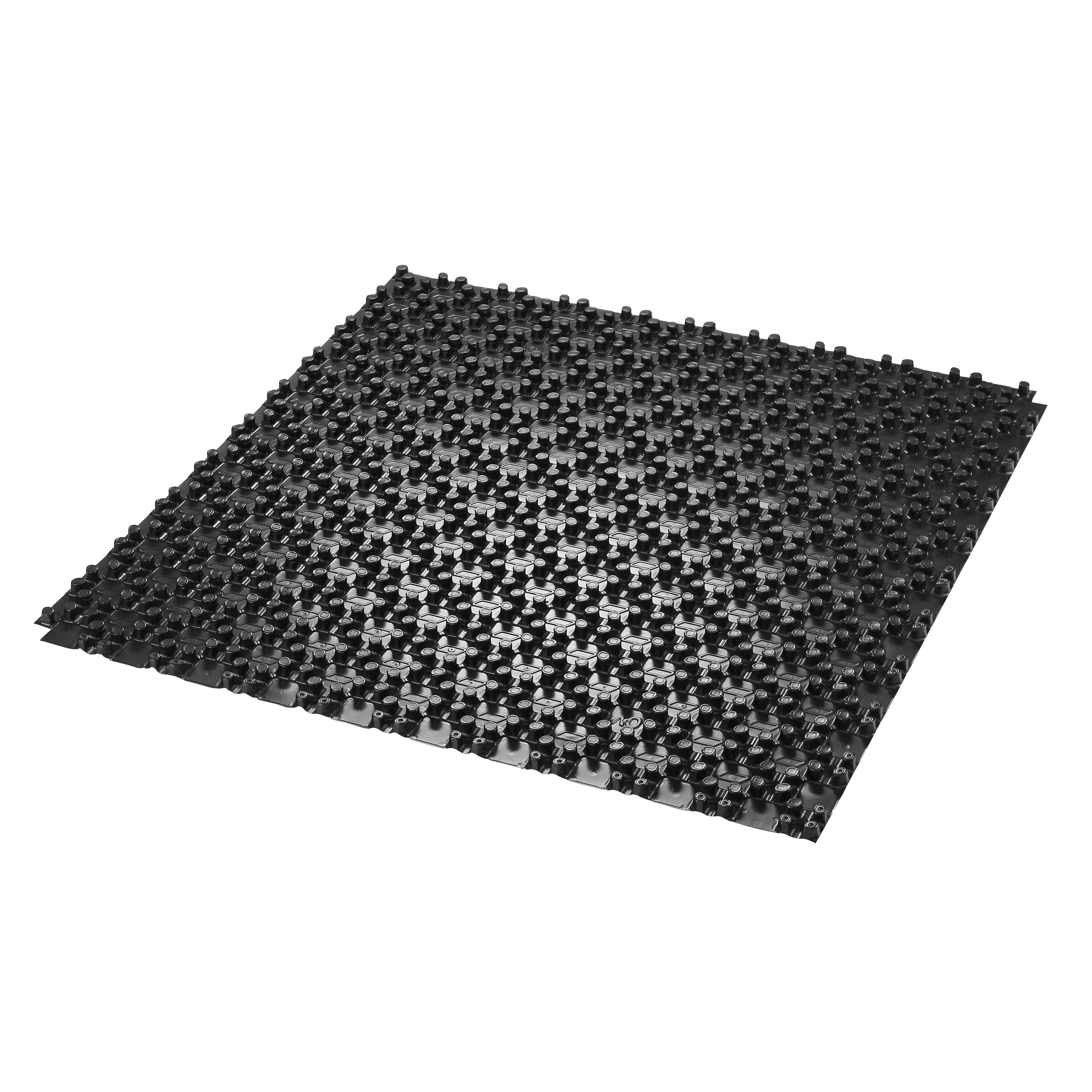 noppenplatte np 11 f r cofloor system noppenplatte 1 0 x 1 0 m mit w rmed mmung 11 mm wlg. Black Bedroom Furniture Sets. Home Design Ideas