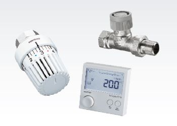 Регулирование температуры и климатических параметров помещения / гидравлическая увязка отопительных приборов