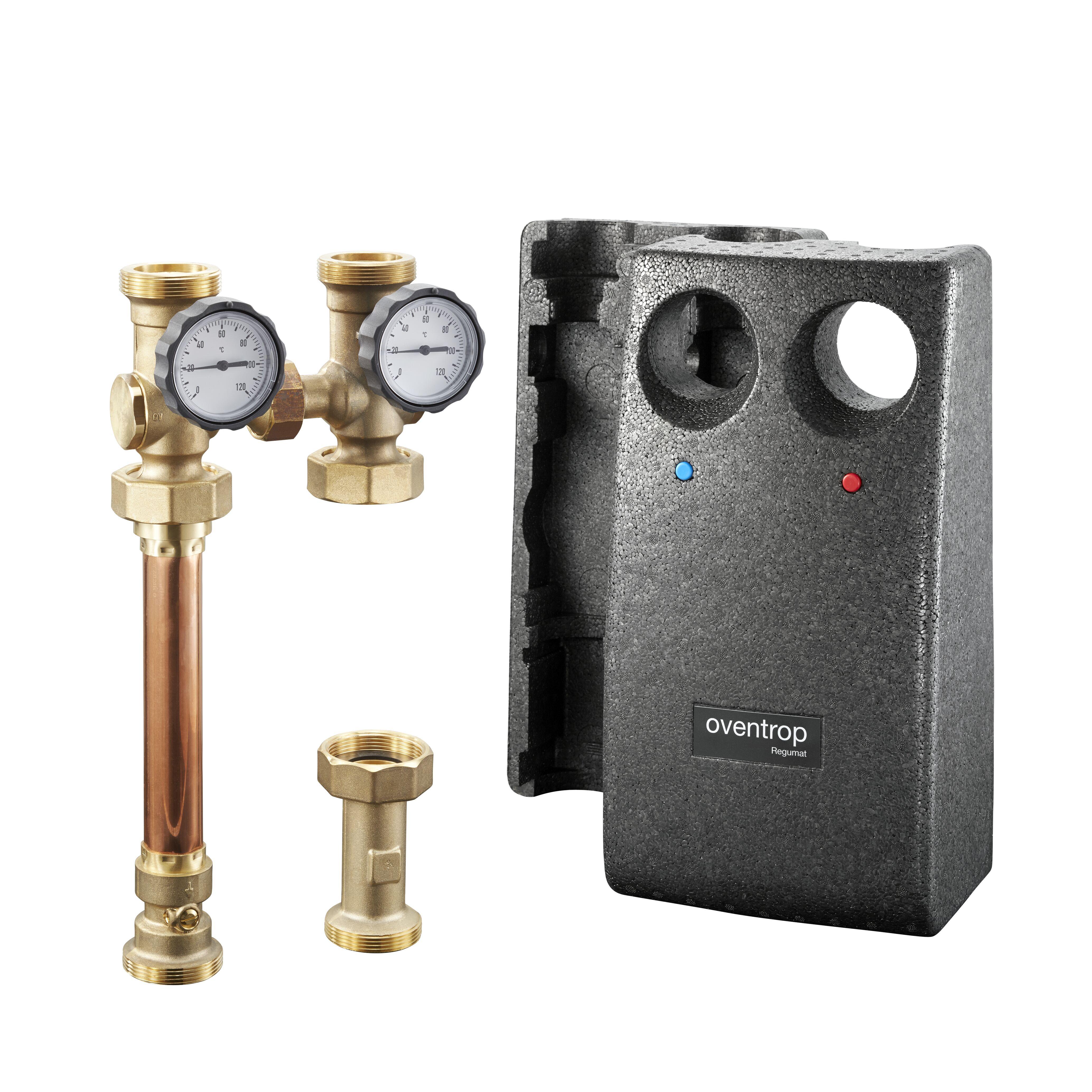 "Kesselanbindesystem ""Regumat S-180"" DN 32 ohne Pumpe - Oventrop GmbH ..."