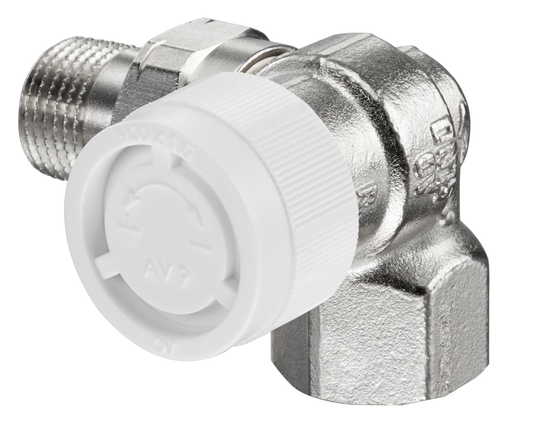 "Thermostatventil ""AV 9"" DN 15, PN 10, Winkeleck rechts - Oventrop ..."