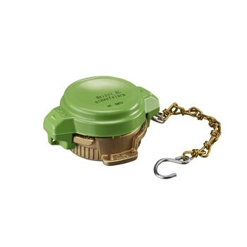 Kütusepaagi Bajonet lukk,DIN 28450 roheline, DN50, VK 50 (Ms