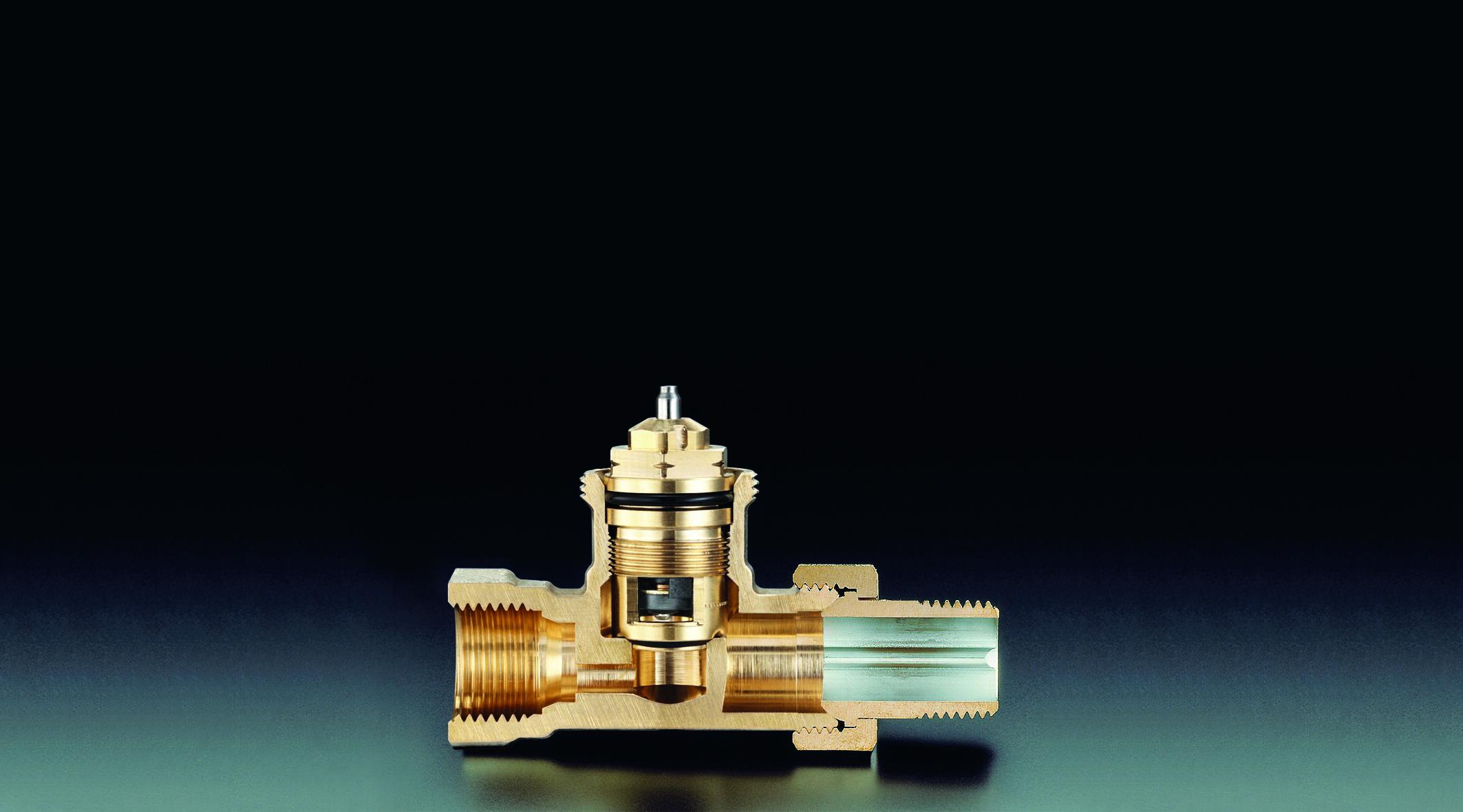 "Thermostatventil ""AV 9"" DN 15, PN 10, Durchgang - Oventrop GmbH & Co. KG"