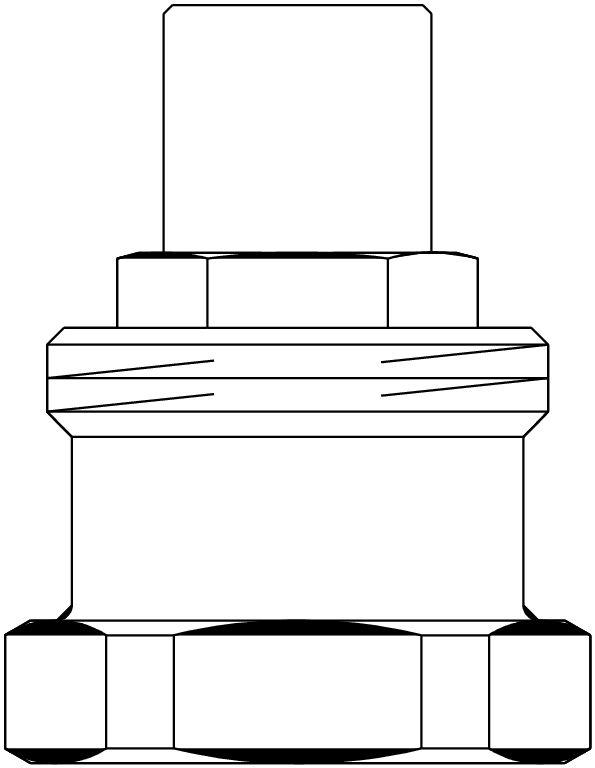 Oventrop OV Verlängerung für RTLH-Thermostatventil 20 mm 1022699