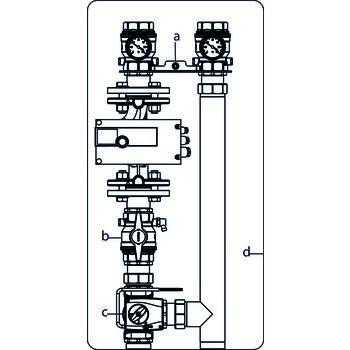 kesselanbindesystem regumat m3 220 dn 40 ohne pumpe mit universalisolierung oventrop gmbh. Black Bedroom Furniture Sets. Home Design Ideas